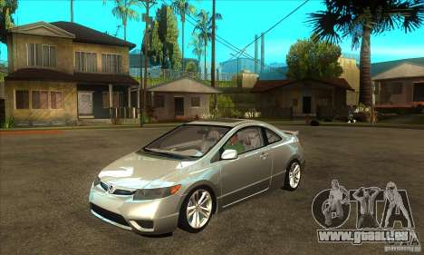 Honda Civic Si - Stock für GTA San Andreas