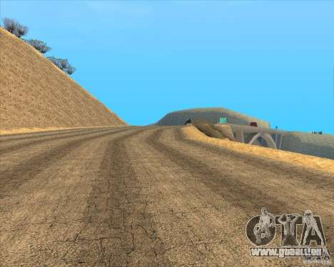 Desert HQ für GTA San Andreas sechsten Screenshot