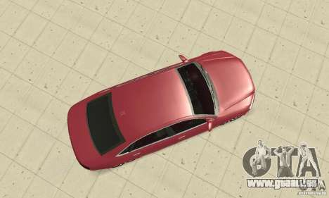 Audi A8L 4.2 FSI pour GTA San Andreas vue de droite
