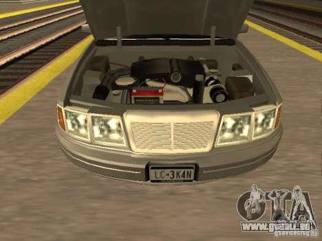 HD Stretch pour GTA San Andreas vue de droite