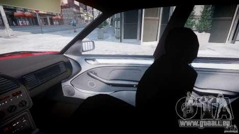 BMW 318i Light Tuning v1.1 für GTA 4 Innenansicht