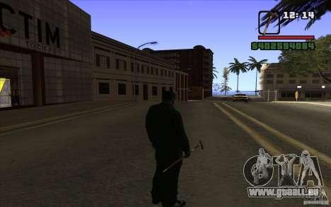 Nouvelle canne pour GTA San Andreas troisième écran