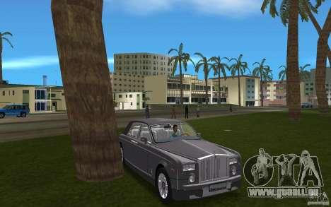 Rolls Royce Phantom für GTA Vice City Rückansicht