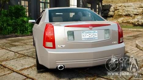Cadillac CTS-V 2004 pour GTA 4 Vue arrière de la gauche
