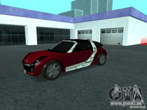 Smart Roadster Coupe für GTA San Andreas Innenansicht