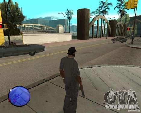 Police On Radar pour GTA San Andreas troisième écran