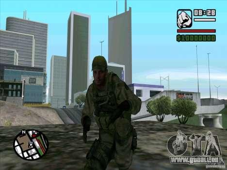 Dave de Resident Evil pour GTA San Andreas troisième écran