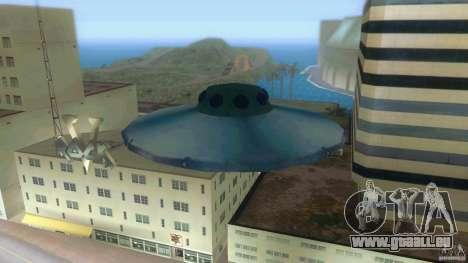 Ufo Hunter pour GTA Vice City sur la vue arrière gauche