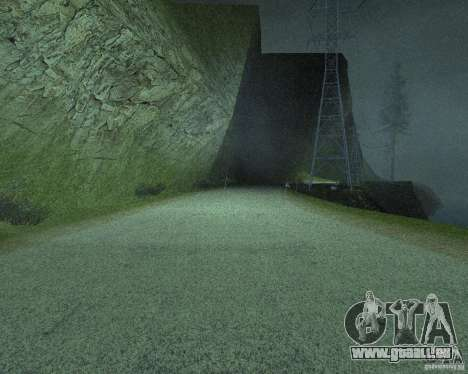 Construction de nouvelles routes à San Fierro pour GTA San Andreas douzième écran