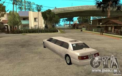 Stretch - GTA IV pour GTA San Andreas sur la vue arrière gauche