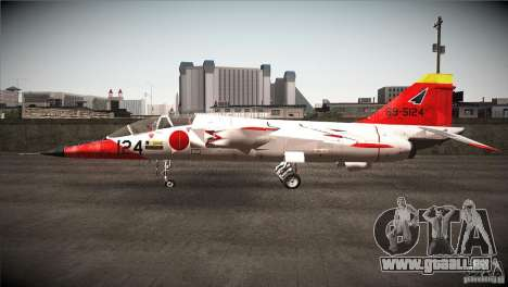 Mitsubishi T-2 für GTA San Andreas linke Ansicht