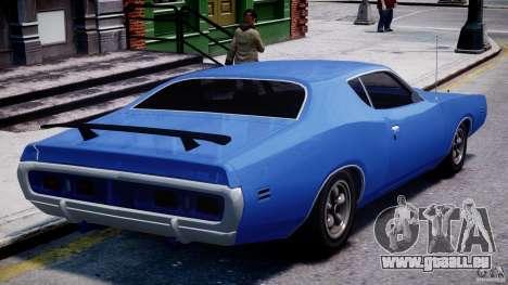 Dodge Charger RT 1971 v1.0 für GTA 4 hinten links Ansicht