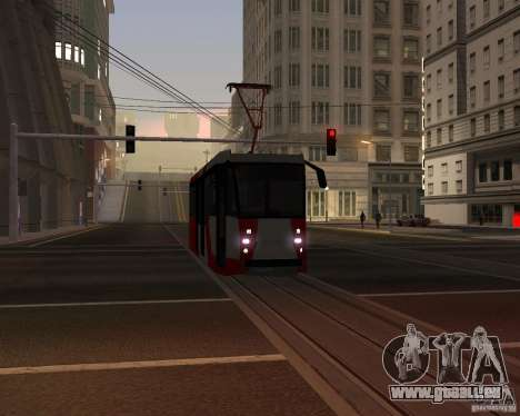 LM-2008 pour GTA San Andreas vue de dessus