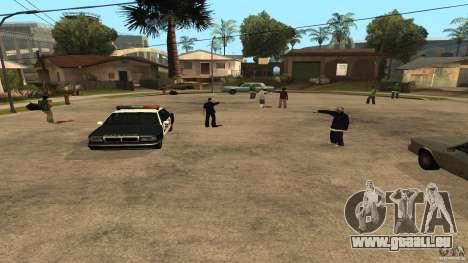 Sur la rue Grove a été attaquée par les Ballas pour GTA San Andreas