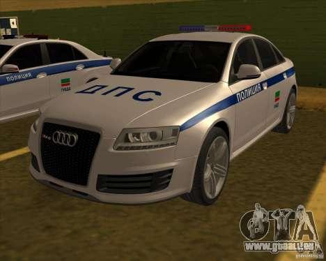 Audi RS6 2010 DPS für GTA San Andreas