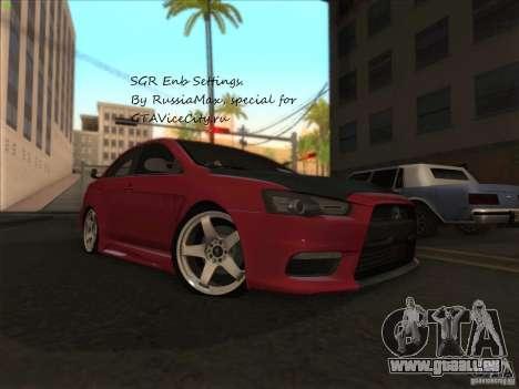 SGR ENB Settings pour GTA San Andreas