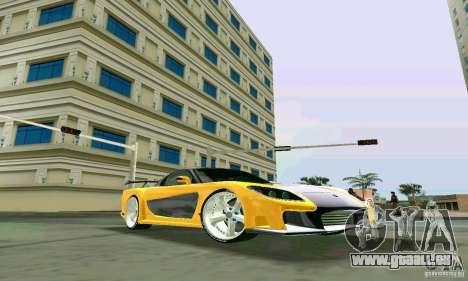 Mazda RX7 VeilSide für GTA Vice City rechten Ansicht