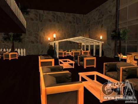 Club auf dem Wasser für GTA San Andreas dritten Screenshot