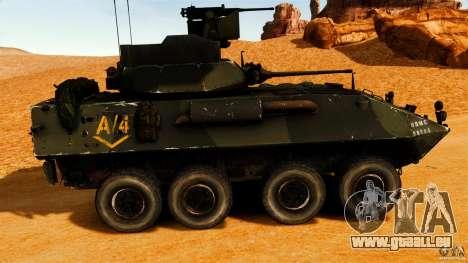 LAV-25 IFV pour GTA 4 est une gauche