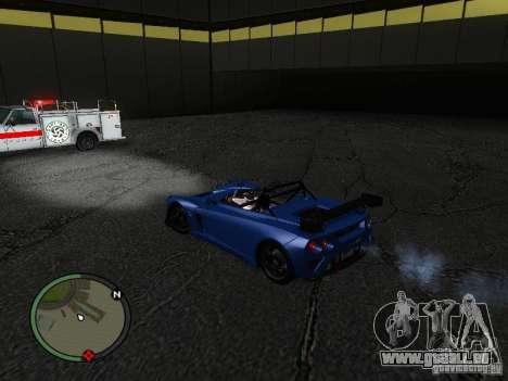 Lotus 2-Eleven 2009 für GTA San Andreas zurück linke Ansicht