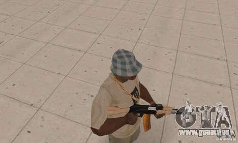AK 47 für GTA San Andreas dritten Screenshot