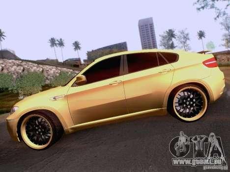 BMW X6M Hamann für GTA San Andreas