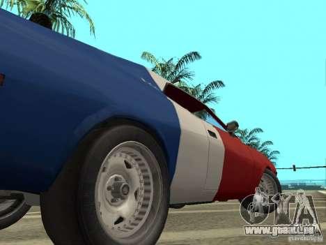AMC Javelin 1970 pour GTA San Andreas vue arrière