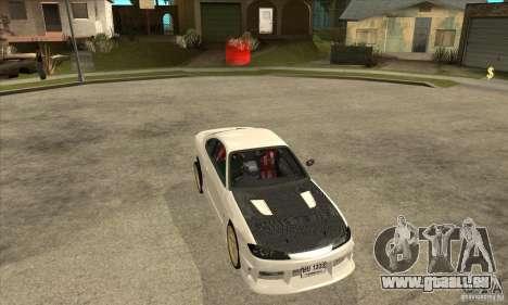 Nissan Silvia pour GTA San Andreas vue arrière