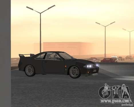 Nissan Skyline GT-R R-33 für GTA San Andreas obere Ansicht