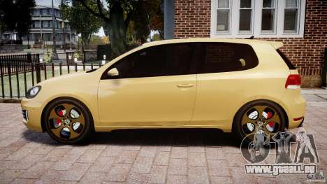 Volkswagen Golf GTI Mk6 2010 pour GTA 4 est une gauche