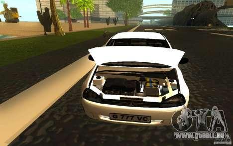 Lada Kalina Stock pour GTA San Andreas vue arrière