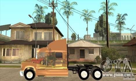 Peterbilt 387 peau 3 pour GTA San Andreas laissé vue