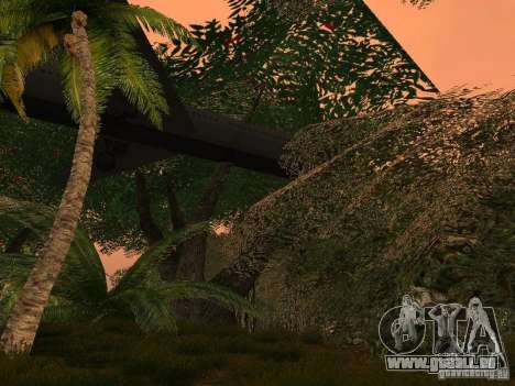 Das Geheimnis der tropischen Inseln für GTA San Andreas fünften Screenshot