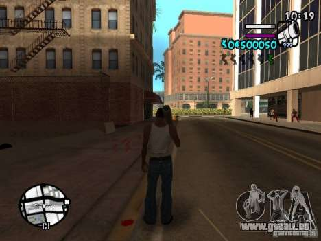 HUD by Hot Shot v.2 für GTA San Andreas zweiten Screenshot