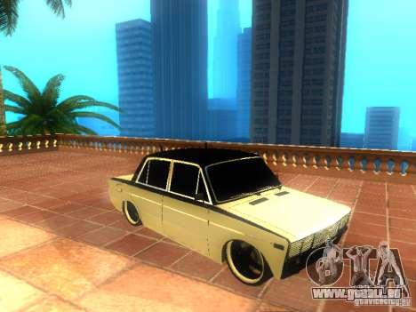 Style de VAZ 2106 dag pour GTA San Andreas