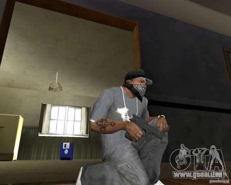 M9 pour GTA San Andreas deuxième écran