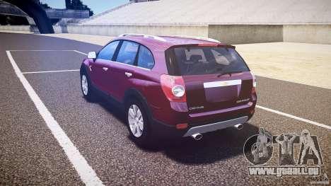 Chevrolet Captiva 2010 Final pour GTA 4 est un droit