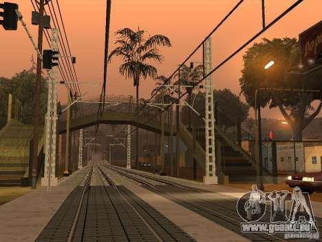 Haute vitesse de la ligne de chemin de fer pour GTA San Andreas