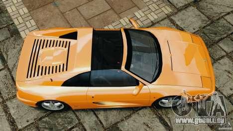 Ferrari F355 F1 Berlinetta pour GTA 4 est un droit