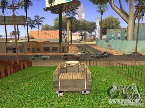 GAZ 53 pour GTA San Andreas laissé vue