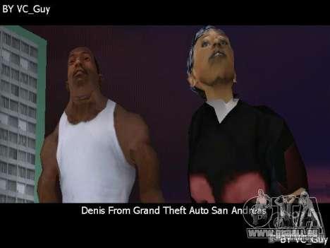 SA Characters GTA Vice City pour la troisième écran