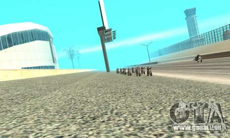 BikersInSa (die Biker In SAN ANDREAS) für GTA San Andreas dritten Screenshot