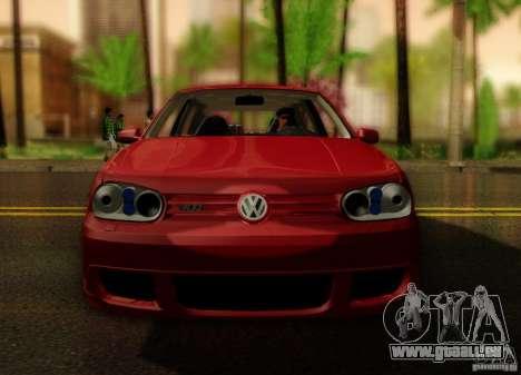 Volkswagen Golf Street für GTA San Andreas rechten Ansicht