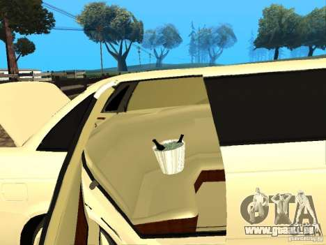 LADA Priora 2170 Limousine für GTA San Andreas Rückansicht