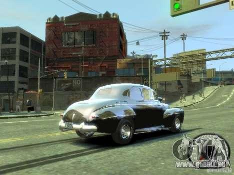 Ford Super Deluxe 1948 für GTA 4 rechte Ansicht