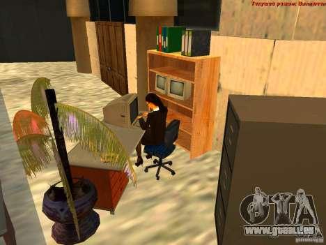 20th floor Mod V2 (Real Office) für GTA San Andreas siebten Screenshot