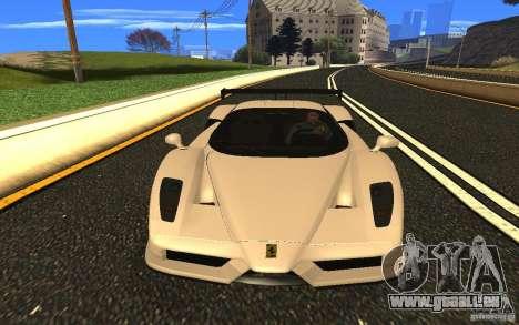 Ferrari Enzo ImVehFt pour GTA San Andreas vue arrière