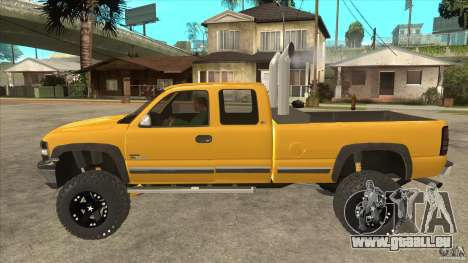 Chevrolet Silverado 2500 Lifted für GTA San Andreas linke Ansicht