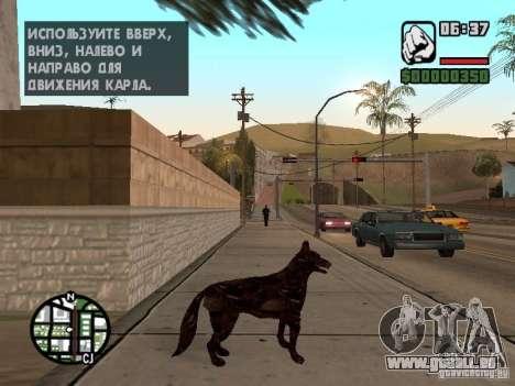 Cerberus aus Resident Evil 2 für GTA San Andreas