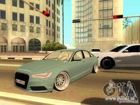 Audi A6 Stanced pour GTA San Andreas